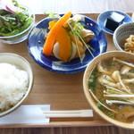 ももふく - 料理写真:お昼ごはん(春巻き定食)