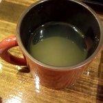 いっぷく茶屋 風和 - 蕎麦湯♬