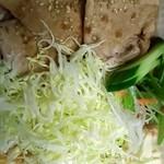 いっぷく茶屋 風和 - 生姜焼き♬(テイクアウト)豚肉、柔らかくて美味しかった(*´∀`)
