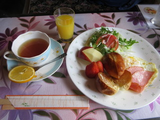 喫茶 マロニエ - モーニングA 600円 (2018.3)