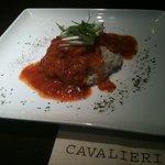 カヴァリエリ - ランチ:ツナトマト煮込ライス(サラダ付)