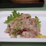 庵和昇 - わんこの料理・鳥ご飯+野菜