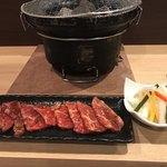 焼肉酒楽JyuJyu - jyunyuカルビ。美味しいです。
