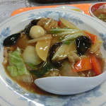 八洲軒 - 料理写真:中華丼