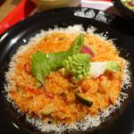 お米料理 リゾット☆スター - 10種類野菜のトマトリゾット