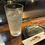 てっぱん居酒屋酔平 - レモンチューハイ