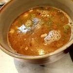 麺匠 呉屋 - 冷つけそば スープ