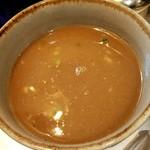 麺匠 呉屋 - スープ割後
