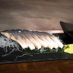 鉄板焼 広島お好み焼 ぶち - 金華のしめ鯖
