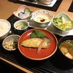 徳樹庵 - 料理写真:銀鱈西京焼き御膳 ¥ 1,590(税別)