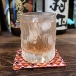 灯 - いちご酒のソーダ割り