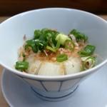 家庭料理 小川 - 新玉ねぎ