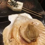 串鳥番外地 - ほたてバター450円・長芋140円