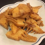 鴻園 - 筍の炒め