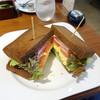 むさしの森珈琲 - 料理写真:ボンレスハム&エッグサンドモーニング626円