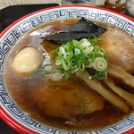 麺処 ら塾 - 醤油チャーシューメン 味付け玉子入