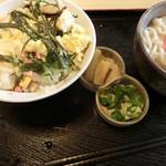 藤弘 - 親子丼セット。850円