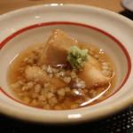 四季彩 葉月 - 里芋の唐揚げ 蕎麦の実あんかけ