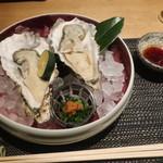 四季彩 葉月 - 厚岸産生牡蠣