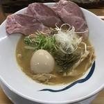 青波 - 料理写真:無情(醤油) ※味玉追加