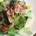 COLK  - 桜海老の春色サラダ自家製ドレッシング