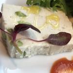 COLK  - 前菜から… 帆立と枝豆のテリーヌ