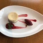 COLK  - ランチコースから… デザート☆自家製チーズケーキとソルベ