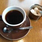 COLK  - ランチコースから…コーヒーは SAZ A ブレンド