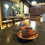 茶房 かたやま邸 - ホットコーヒー(350円)2018年4月