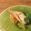 筍の鉄板ロースト ディルのソース