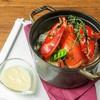 オマール海老のコトリヤード 春の野菜たちとともに