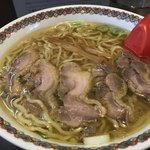 83762077 - 鶏チャーシュー麺醤油大盛(1,000円税込)
