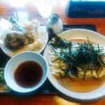 83762224 - 野菜天ざる(うどん)