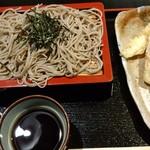 一乃庵 - 料理写真:天ざる(1,300円)です♪