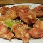 ドラゴンデリ - 鶏から揚げ香味だれ定食(油淋鶏)