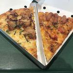 ピザーラエクスプレス - 料理写真:ソーセージと厚切りベーコンのミートソース&テリヤキチキン