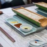 宇豆基野 - 2018.3 朝採りゆば三種