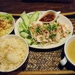 チャンティカ - 料理写真:【期間限定】口水鶏(よだれどり)1,050円