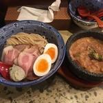 83766802 - 魚介濃厚ブルーチーズソースつけ麺