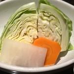 庫裏 - お味噌とお野菜