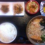 麺処 十 - 日替わりうどん定食
