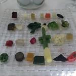 銀座 シェ・トモ - 野菜