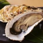 活殻付き牡蠣