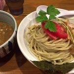 麺屋 蕃茄 - 濃厚煮干つけ麺大盛り