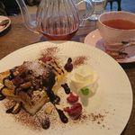 cafe Cherish - クリームチーズとショコラ