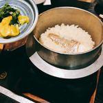 舟磯 - 釜飯(鯛)750円