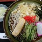 瀧乃家 - 料理写真:冷やしたぬきそば750円