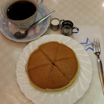 純喫茶 アメリカン - ホットケーキセット980円