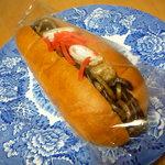 Merupochi - 黒焼きそばパン