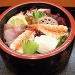 四季の料理 うえ野 - 海鮮丼
